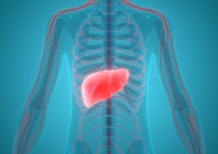 Метастатични тумори на черния дроб